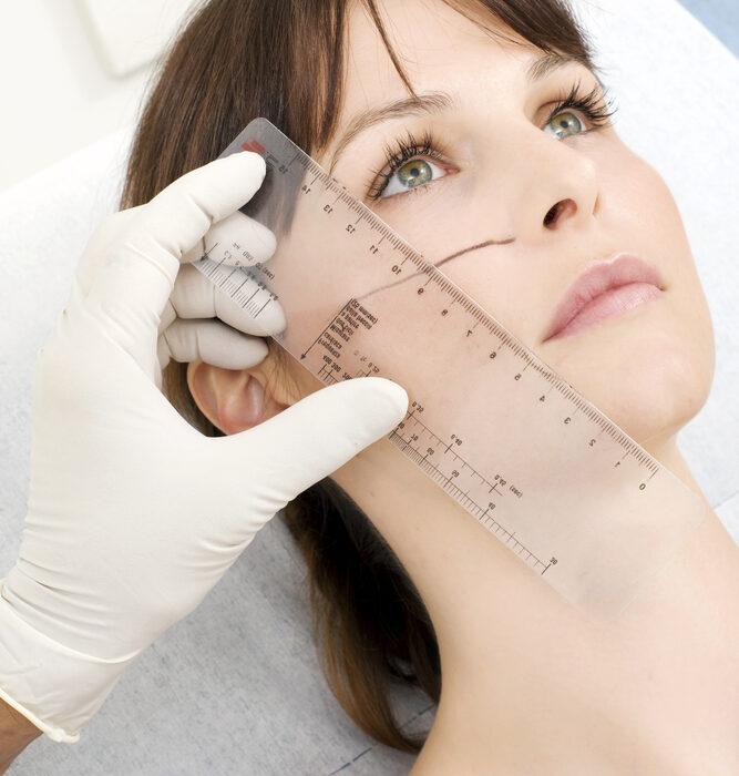 Hautarzt München Behandlung mit Filler